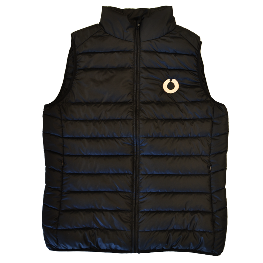 Recycled Polyester Gilet flat lay